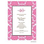 Printswell 38714 Adult Birthday Invitation