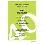 Printswell 38774 Adult Birthday Invitation