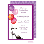 Printswell 42891 Adult Birthday Invitation