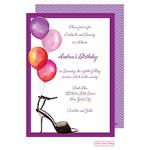 Printswell 42891 Adult Birthday Invitation