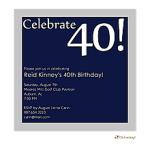 Printswell 45923 Birthday Invitation