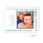Printswell 47771 Birthday Invitation