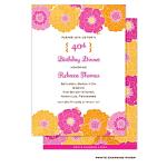 Printswell 48826 Adult Birthday Invitation